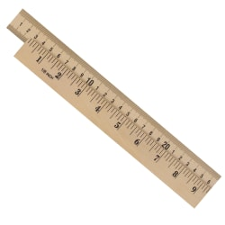 Learning Resources® Wood Meter Sticks, Brown, Pack Of 4