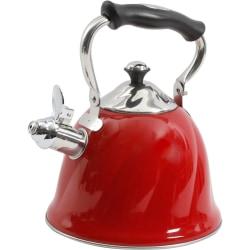 Mr. Coffee Alderton Tea Kettle - 2.3 quart Kettle - Cooking - Red - 1 Piece(s)