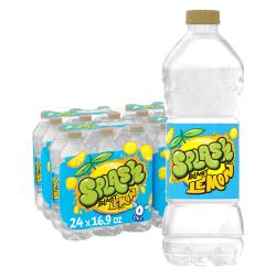 Nestlé® Splash Natural Lemon Flavored Water Beverage, 16.9 Oz, Case of 24 Bottles