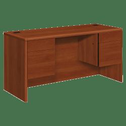 HON® 10700 Series Double Pedestal Credenza, Cognac