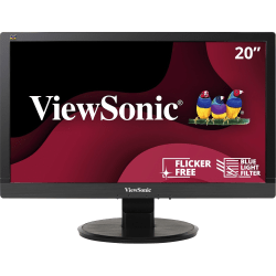 "ViewSonic® VA2055SM 20"" FHD LED Monitor"