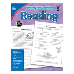 Carson-Dellosa Standards-Based Connections Reading Workbook, Grade 5
