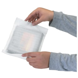 """Office Depot® Brand Cohesive Air Foam Rolls, 1/16""""H x 24""""W x 625'D, White, Pack Of 2"""