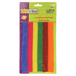 """Wax Works Wax Works Hot Colors Sticks Assortment - Art - Recommended For 3 Year - 8"""" - 48 / Pack - Assorted"""