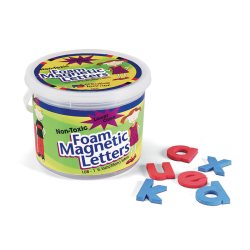 "Pacon® Magnetic Letters, Foam, Lowercase, 1 1/2"", Red/Blue, Box Of 108"