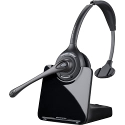 Plantronics® CS510 Wireless Office Phone Headset, Black/Silver
