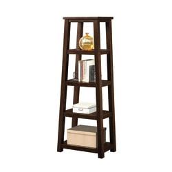 Whalen® Triton 5-Shelf Bookcase, Walnut