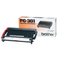 Brother® PC-301, Black Print Cartridge