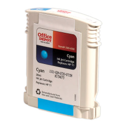 Clover Imaging Group OD211C Remanufactured Ink Cartridge Replacement For HP 11 Cyan