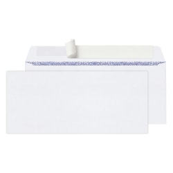 "Office Depot® Brand Clean Seal™ Business Envelopes, #10, 4-1/8"" x 9-1/2"", Box Of 100 Envelopes"