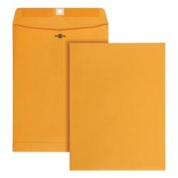 "Office Depot® Brand 9"" x 12"" Manila Envelopes, Clasp Closure, Brown Kraft, Box Of 100"