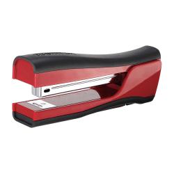 "Bostitch Dynamo Stapler - 20 Sheets Capacity - 210 Staple Capacity - Full Strip - 1/4"" Staple Size - Red"