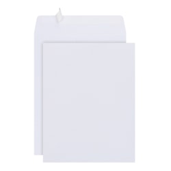 "Office Depot® Brand Clean Seal™ Catalog Envelopes, 10"" x 13"", White, Pack Of 100"