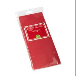 """Gartner Studios® Envelopes, #10, 4 1/8"""" x 9 1/2"""", Red, Box Of 50"""