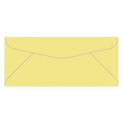 "Gartner Studios® Envelopes, #10, 4 1/8"" x 9 1/2"", Yellow, Box Of 50"