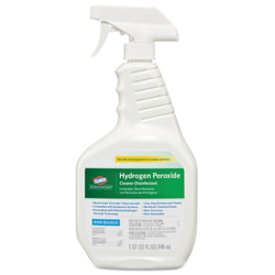 Clorox® Healthcare® Hydrogen-Peroxide Cleaner/Disinfectant, 32 Oz, Pack Of 9
