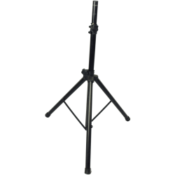 "Supersonic DJ Speaker Tripod Stand - 68"" Height - 200 lb Load Capacity - Black"
