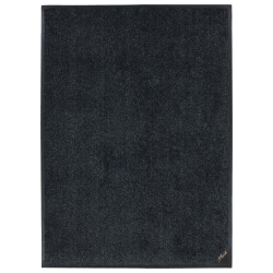 "M + A Matting Colorstar Plush Floor Mat, 24"" x 36"", Slate Gray"