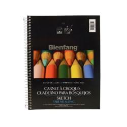 """Bienfang® No. 601 Take Me Along Sketch Paper Pad, 8 1/2"""" x 11"""""""