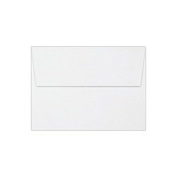 """LUX Invitation Envelopes With Peel & Press Closure, A7, 5 1/4"""" x 7 1/4"""", White, Pack Of 1,000"""