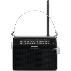 Sangean FM / AM Compact Analogue Tuning Portable Receiver - Headphone - 4