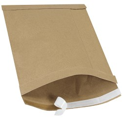 """Office Depot® Brand Kraft Self-Seal Padded Mailers, #4, 9 1/2"""" x 14 1/2"""", Pack Of 25"""