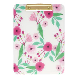 """Office Depot® Fashion Clipboard, 9"""" x 12-1/2"""", Floral"""