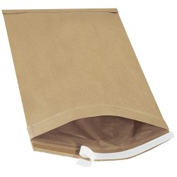 """Office Depot® Brand Kraft Self-Seal Padded Mailers, #6, 12 1/2"""" x 19"""", Pack Of 25"""