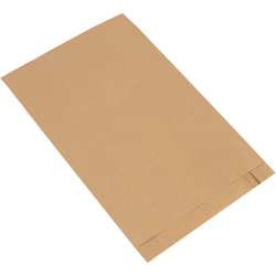 """Partners Brand Gusseted Merchandise Bags, 18""""H x 12""""W x 3""""D, Kraft, Case Of 500"""