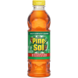 Pine-Sol Original Multi-Surface Cleaner - Concentrate Liquid - 0.19 gal (24 fl oz) - Pine Scent - 408 / Bundle - Amber