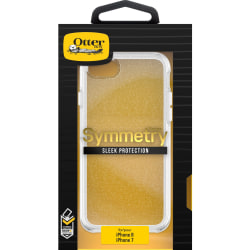 OtterBox Symmetry Case - For Apple iPhone 6, iPhone 6s, iPhone 7, iPhone 8 Smartphone - Stardust - Drop Resistant, Shock Absorbing, Ding Resistant, Scratch Resistant, Bump Resistant - Polycarbonate, Silicone, Synthetic Rubber