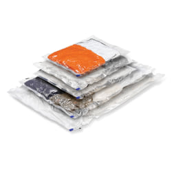 Honey-Can-Do Vacuum-Pack Storage Bags, Combo, Pack Of 5