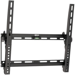 "Tripp Lite Display TV LCD Wall Monitor Mount Tilt 26"" to 55"" TVs / Monitors / Flat-Screens - 165 lb Load Capacity - Metal - Black"