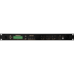 RTS Two-Channel UHF Synthesized Wireless Intercom Base Station - Wired/Wireless - 1000 ft - Rack-mountable, Desktop