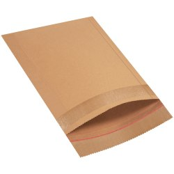 "Jiffy Rigi Bag®, 12 1/2"" x 15"", Kraft, Pack Of 100"