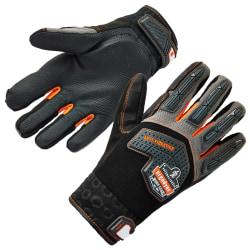 Ergodyne ProFlex 9015F(x) Certified Anti-Vibration Gloves With DIR Protection, XXL, Black