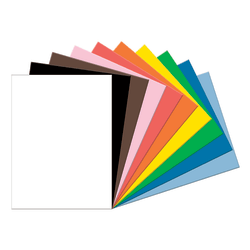 "Tru-Ray® Construction Paper, 50% Recycled, Assorted Colors, 18"" x 24"", Pack Of 50"