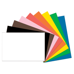 "Tru-Ray® Construction Paper, 50% Recycled, Assorted Colors, 24"" x 36"", Pack Of 50"
