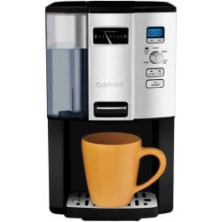Cuisinart Coffee on Demand DCC-3000 Brewer - 12 Cup(s) - Multi-serve - Black, Stainless Steel