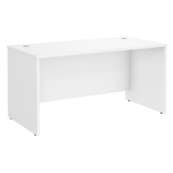 "Bush Business Furniture Studio C Office Desk, 60""W x 30""D , White, Standard Delivery"
