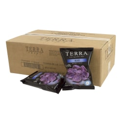 Terra Real Vegetable Chips, Blue, 1 Oz, Pack Of 24