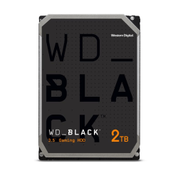 Western Digital® Black™ 2TB Internal Hard Drive For Desktops, SATA, WDBSLA0020HNC-NRSN