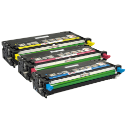 Office Depot® Brand ODD3115CMY Dell™ High-Yield Remanufactured Multicolor Toner Cartridges