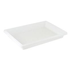 "Cambro Food Box, 4""H x 26""W x 18""D, White"