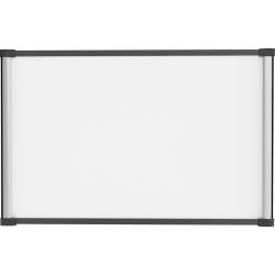 "Lorell® Magnetic Dry-Erase Whiteboard, 24"" x 36"", Steel Frame With Silver Finish"
