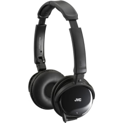 JVC Noise-Canceling Headphones Edu - Stereo - Wired - 30 Ohm - 10 Hz 21 kHz - Over-the-head - Binaural - Circumaural - 3.94 ft Cable - Noise Canceling