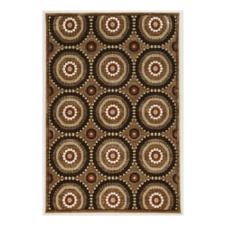 "Linon Home Décor Products Kymm Area Rug, Blount, 5' x 7' 6"", Brown/Beige"