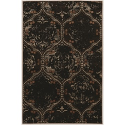 """Linon Home Decor Products Paramount Area Rug, 90""""H x 60""""W, King Arthur, Brown/Beige"""
