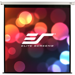 """Elite Screens VMAX2 - 170-inch 1:1, Wall Ceiling Electric Motorized Drop Down HD Projection Projector Screen, VMAX170XWS2"""""""