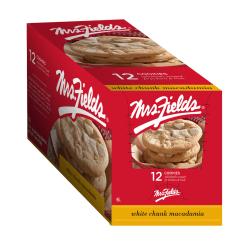 Mrs. Fields White Chunk Macadamia Cookies, Box Of 12